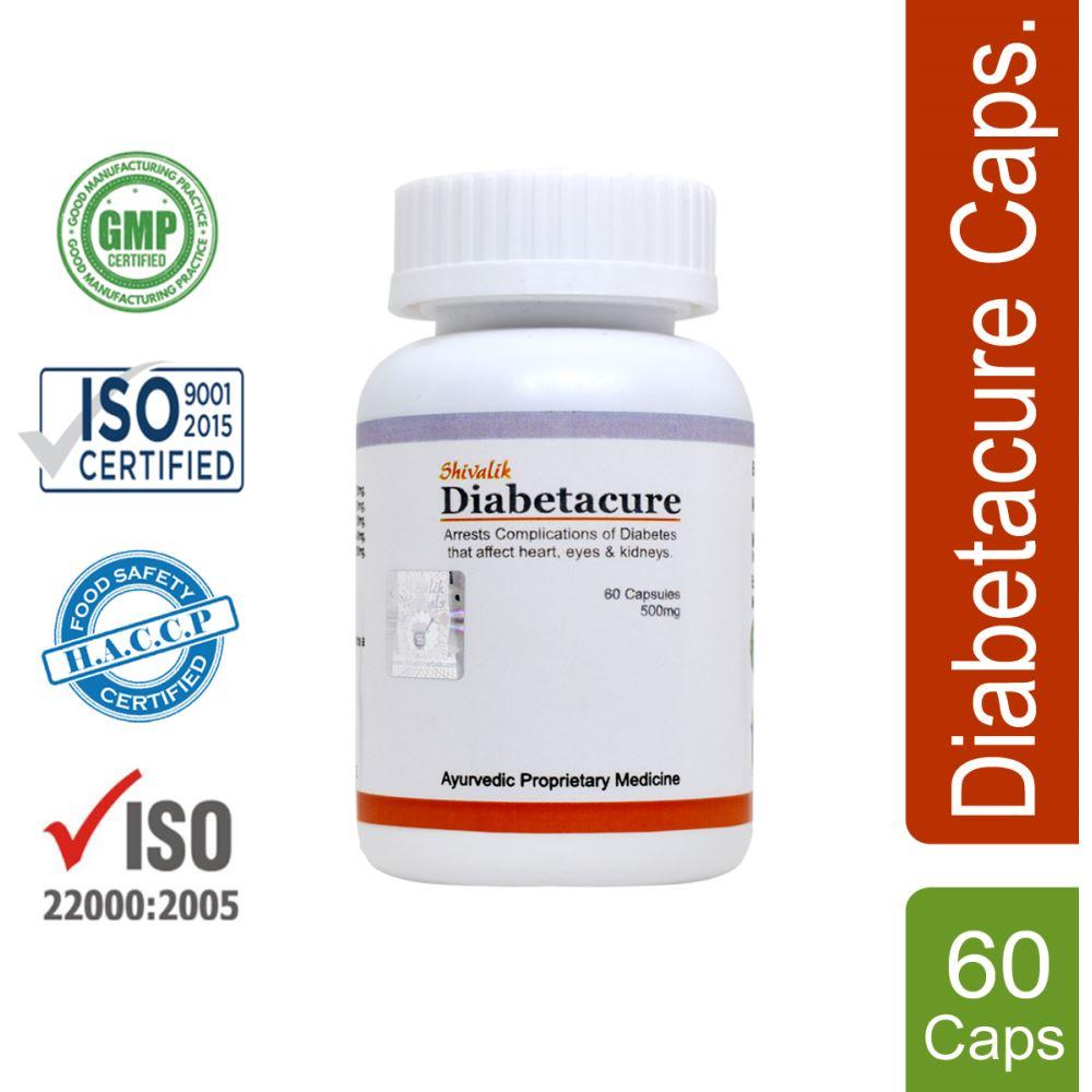 Shivalik Herbals Diabetacure Capsule (60caps)