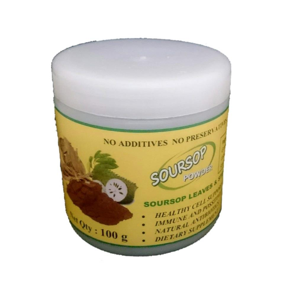 Soursop Organic Leaves and Stems Powder (100g)