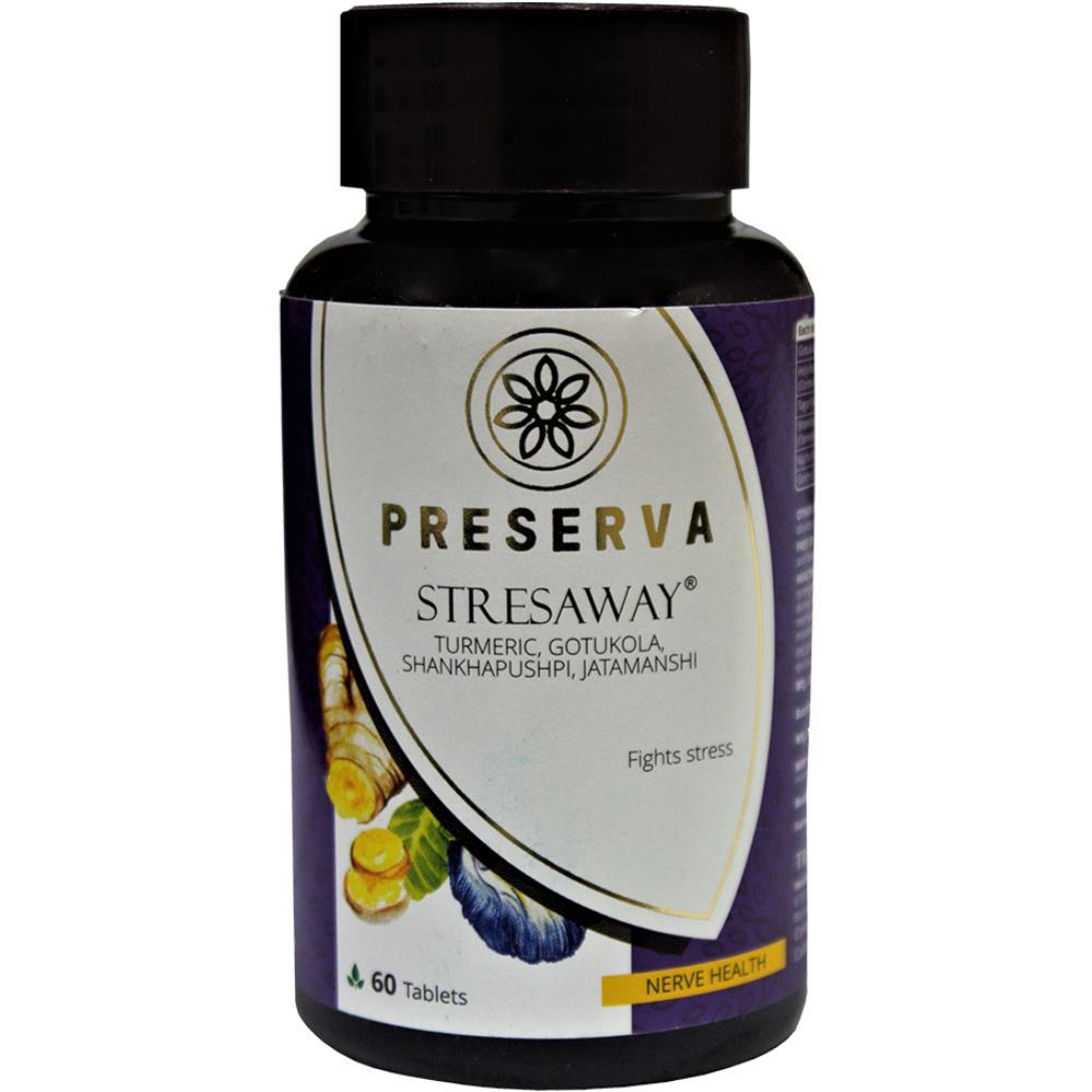 Preserva Wellness Stresaway Tablets (60tab)