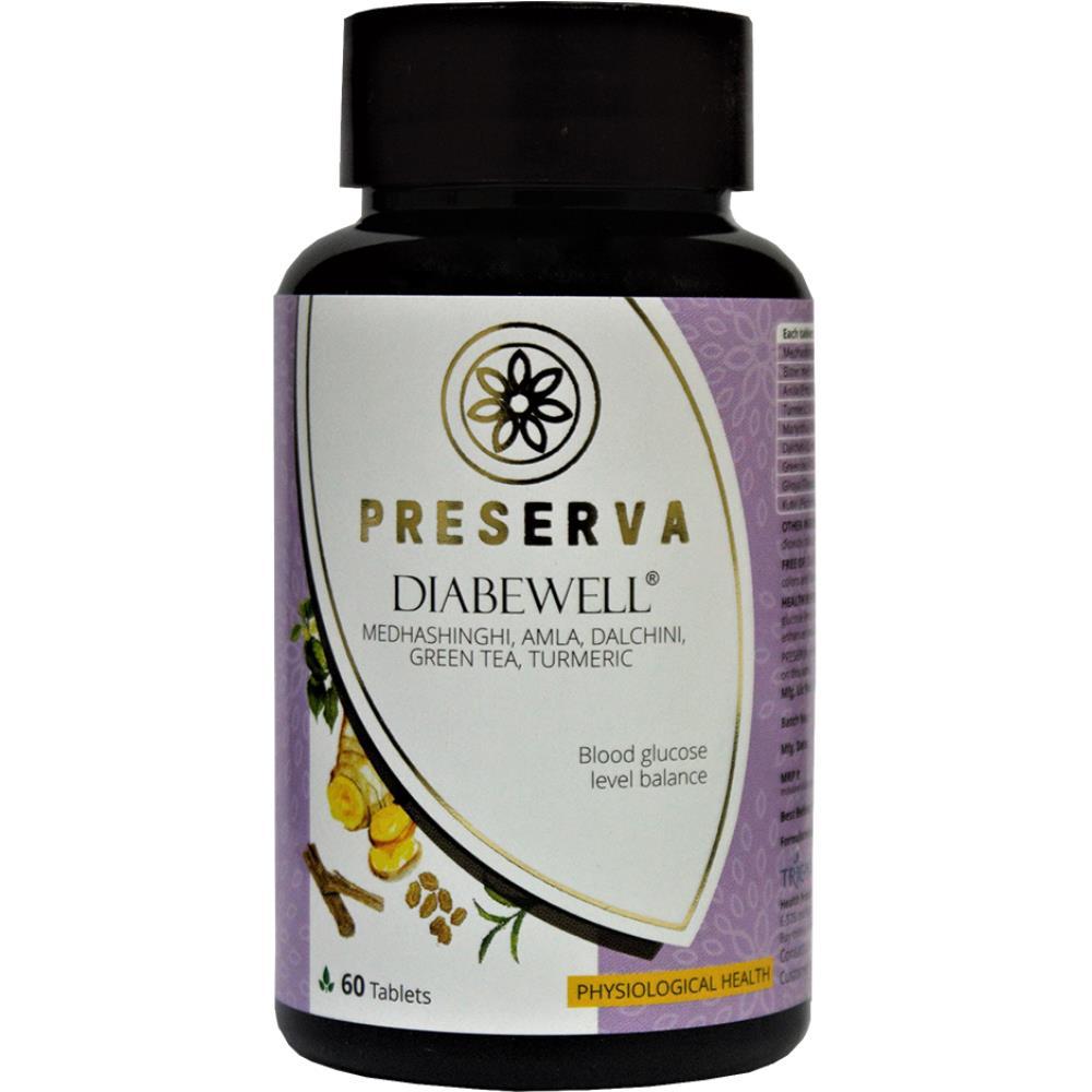 Preserva Wellness Diabewell Tablets (60tab)