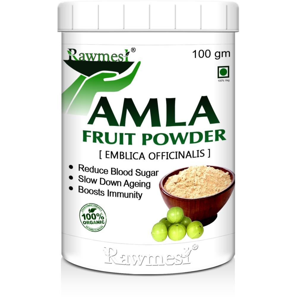 Rawmest Organic Amla Indian Gooseberry Powder (100g)