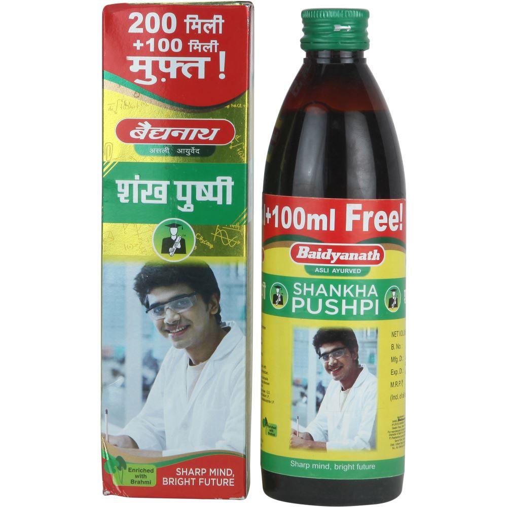 Baidyanath Shankha pushpi Syrup (200ml)