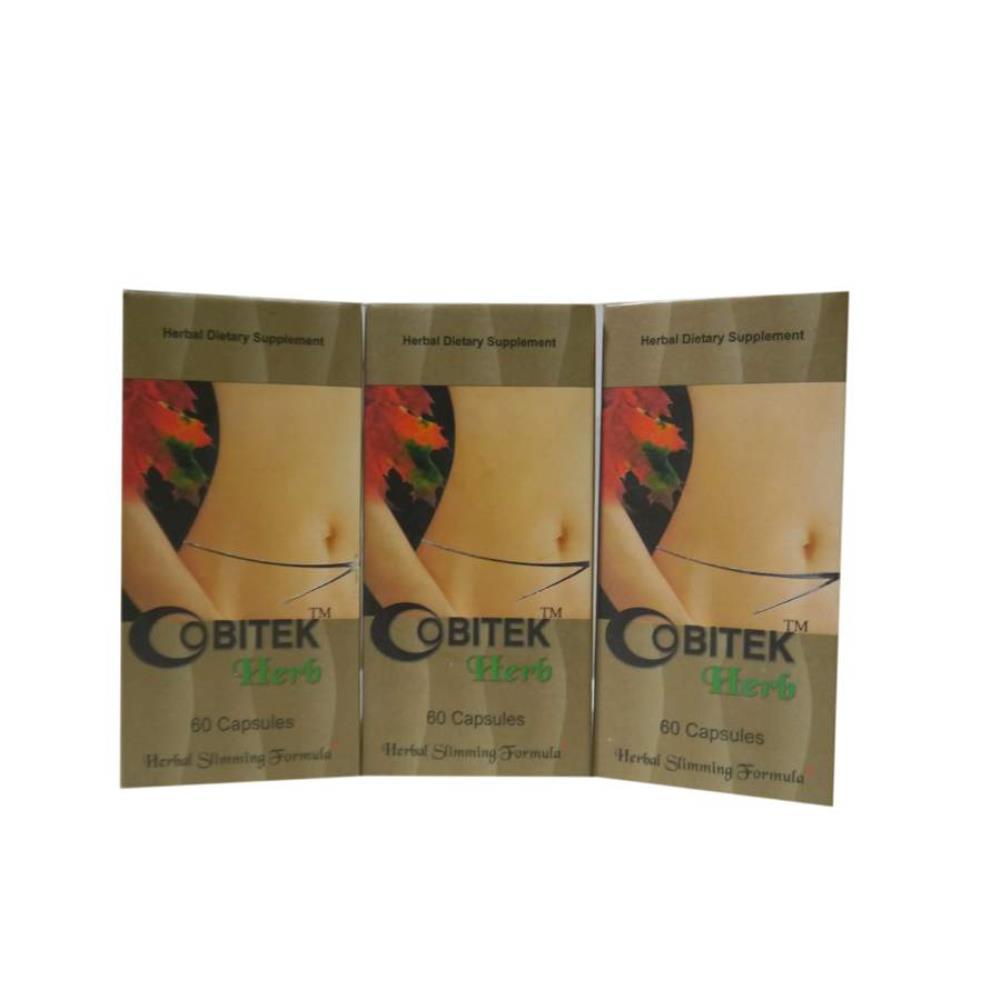 VXL Ayurvedic Obitek Herb Slimming Capsules (60caps, Pack of 3)
