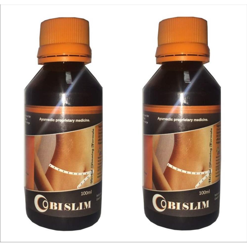 VXL Ayurvedic Herbal Slimming Syrup (100ml, Pack of 2)
