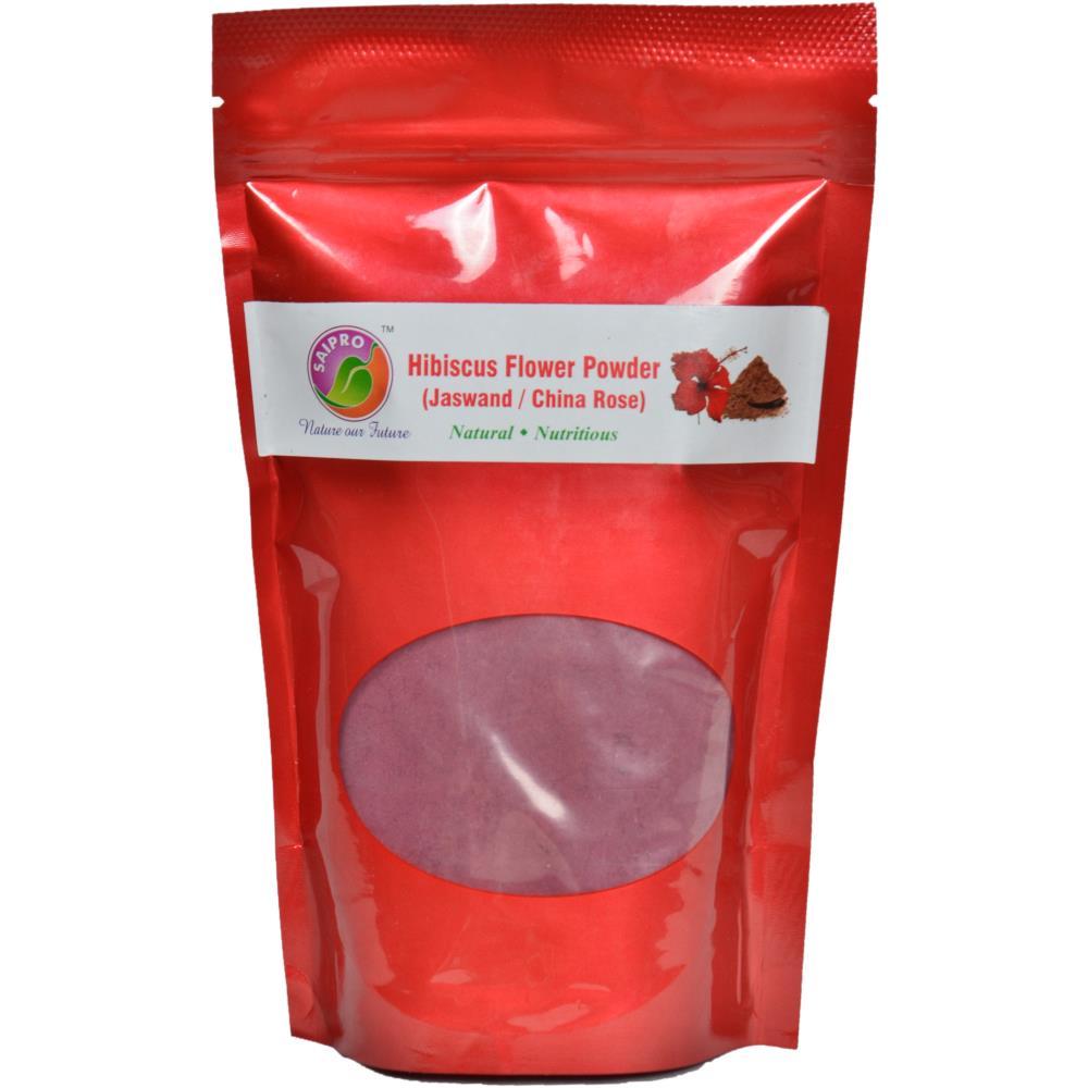 Saipro Hibiscuss Flower Jaswand China Rose Powder (200g)