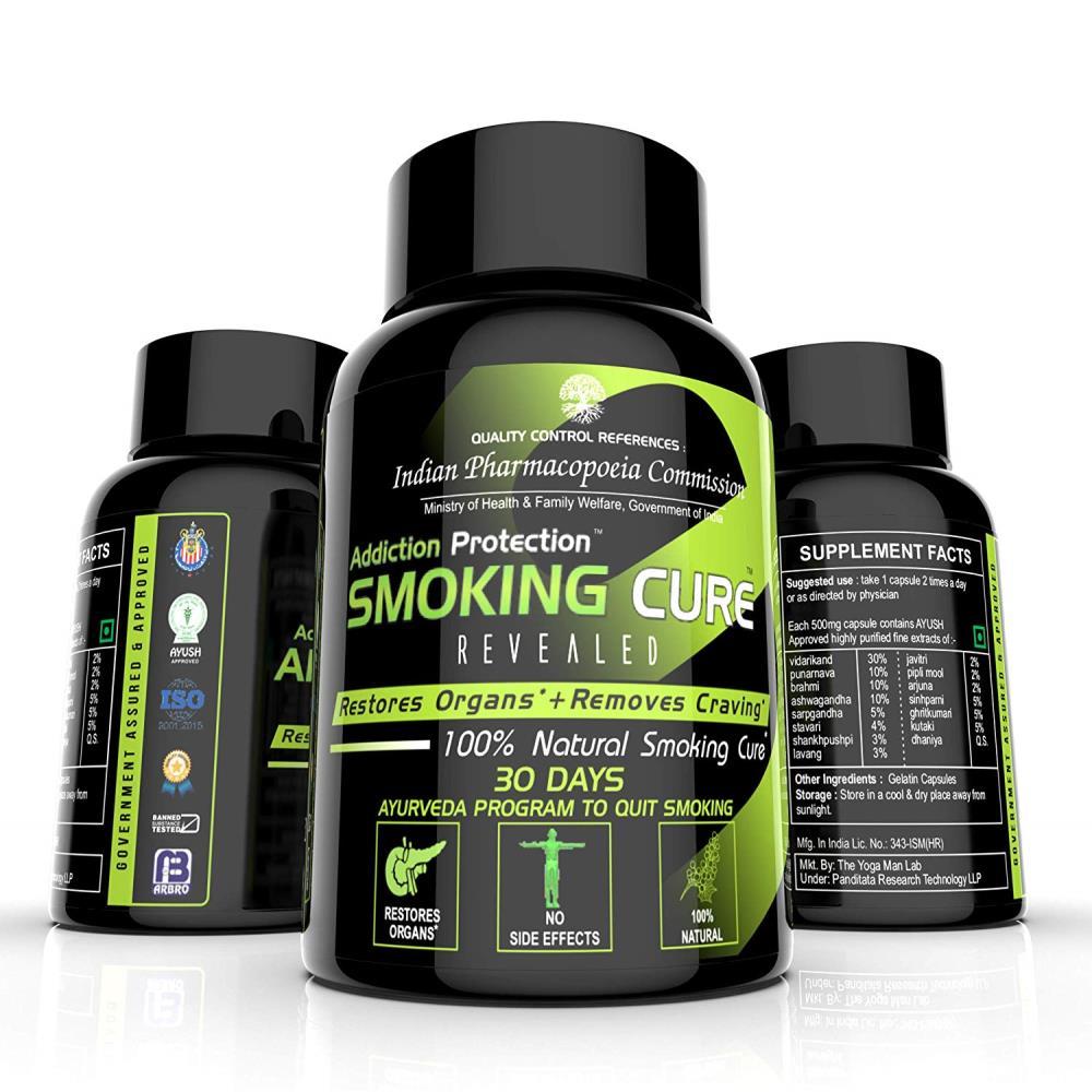 The Yoga Man Lab Smoking Cure Capsules (60caps)
