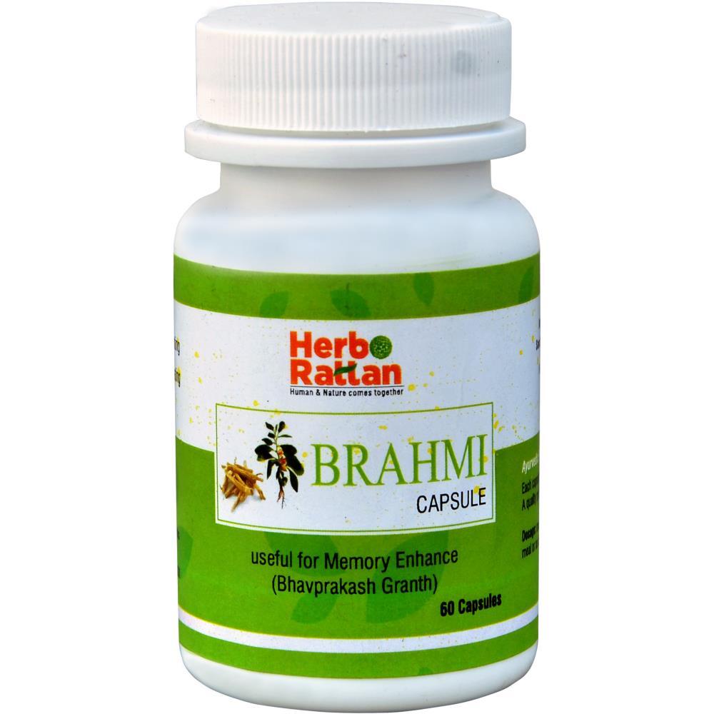 Rajni Herbals Brahmi Capsule (30caps, Pack of 2)