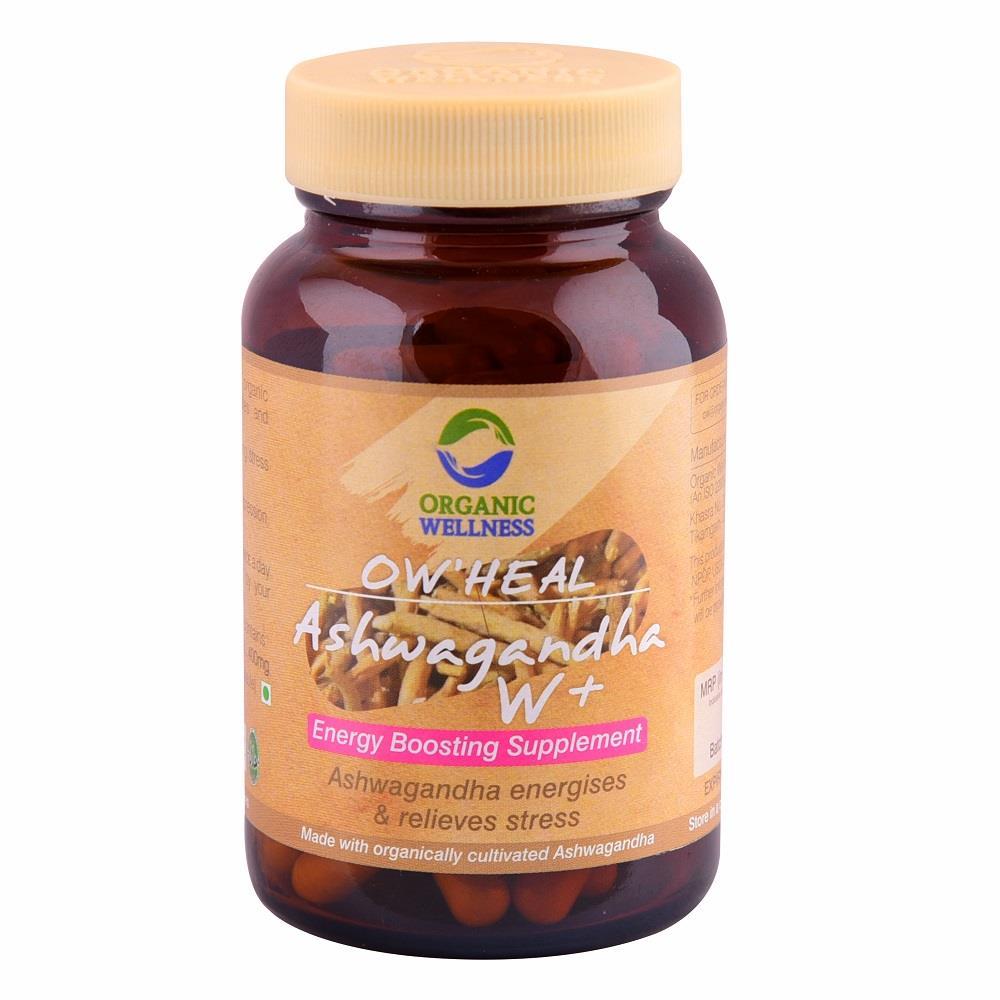 Organic Wellness Ashwagandha W+ Capsules (90caps)