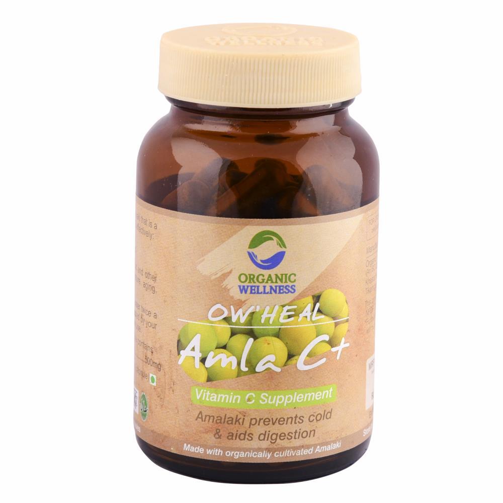 Organic Wellness Amla C+ Capsules (90caps)