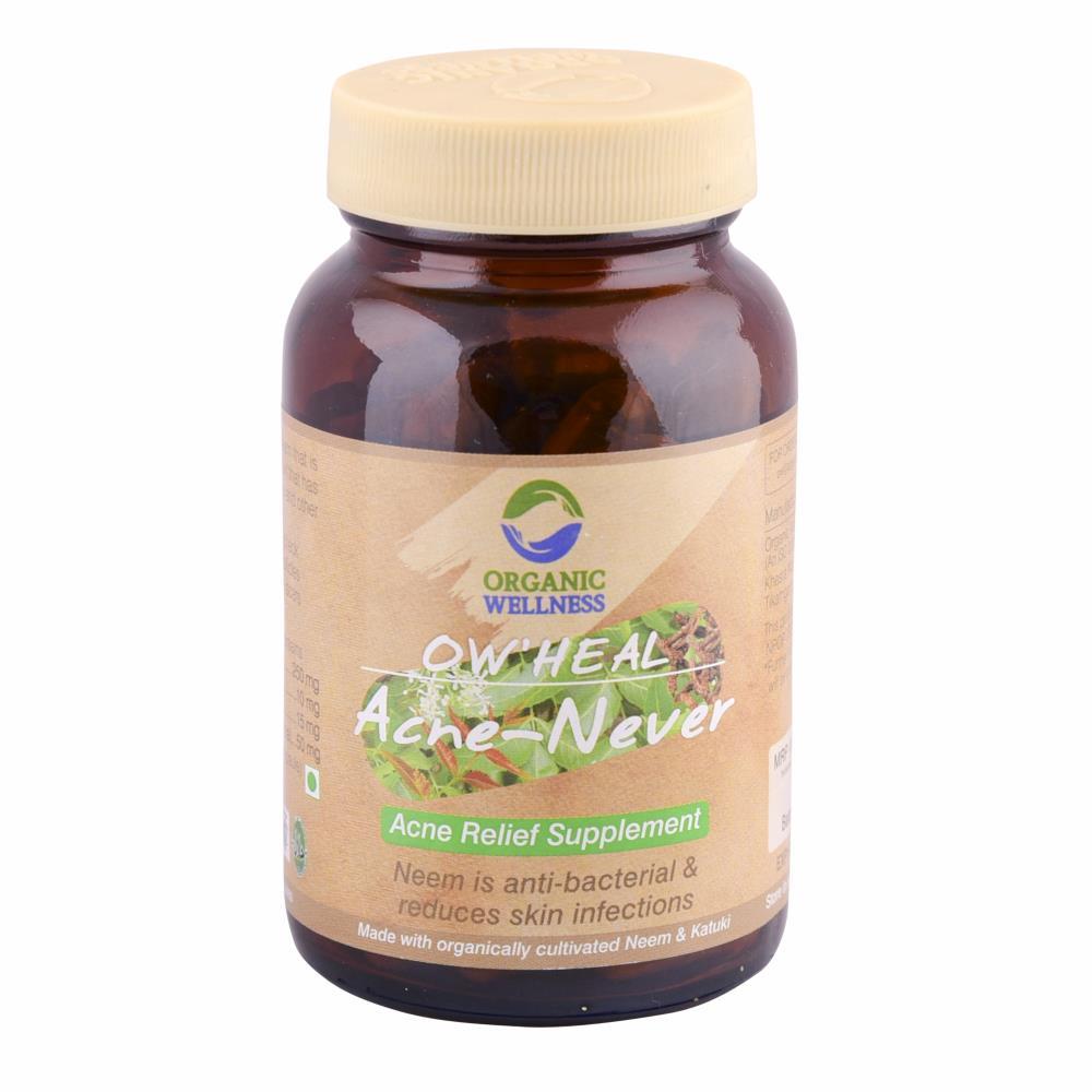 Organic Wellness Acne-Never Capsules (90caps)