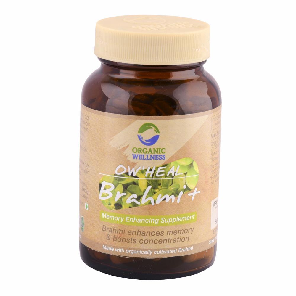 Organic Wellness Brahmi+ Capsules (90caps)