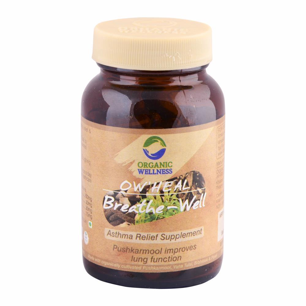 Organic Wellness Breath-Well Capsules (90caps)