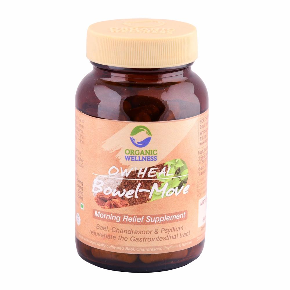 Organic Wellness Bowel-Move Capsules (90caps)