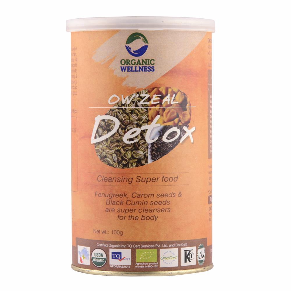 Organic Wellness Detox Powder (100g)