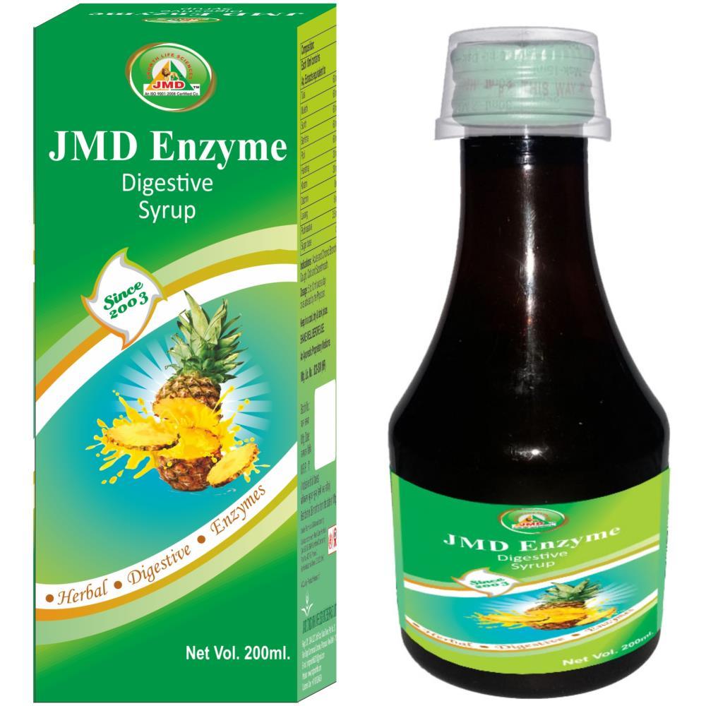 JMD Growth Enzyme Digestive Herbal Syrup (200ml)