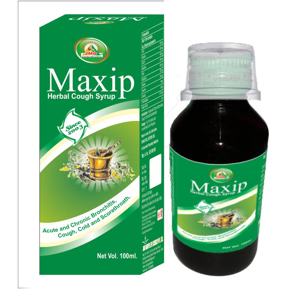 JMD Growth Maxip Cough Syrup (100ml)