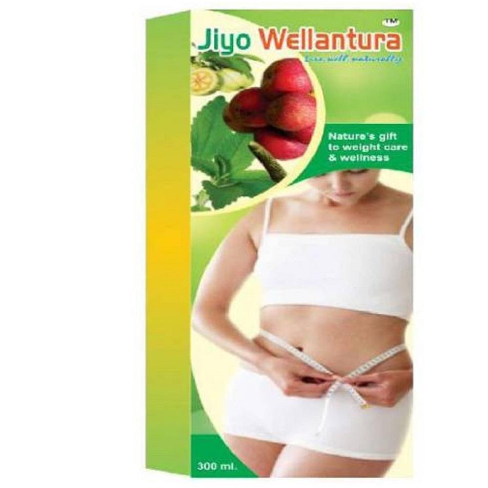 Jiyo Ayurvedic Wellantura Fat Burner Syrup (300ml, Pack of 2)