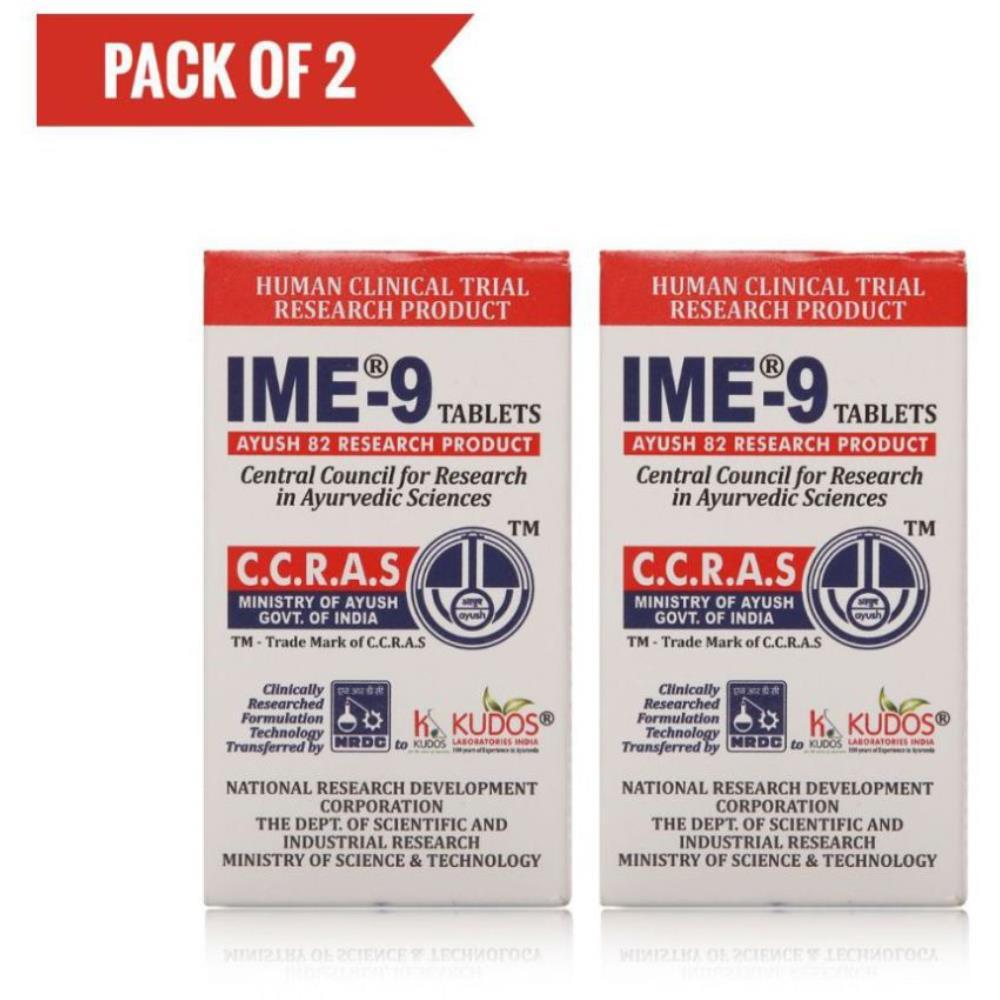 Kudos IME-9 Tabs (60tab, Pack of 2)