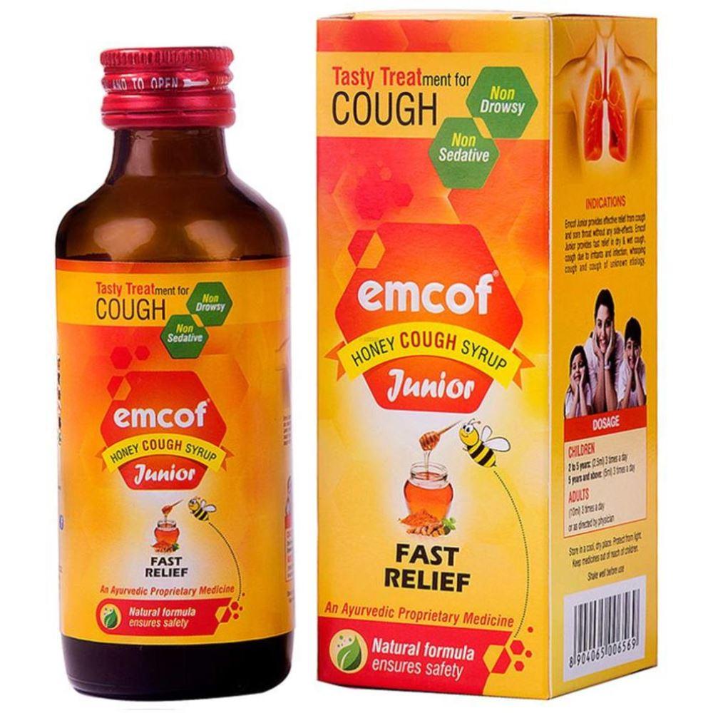 Emcof Junior Honey Cough Syrup (100ml)