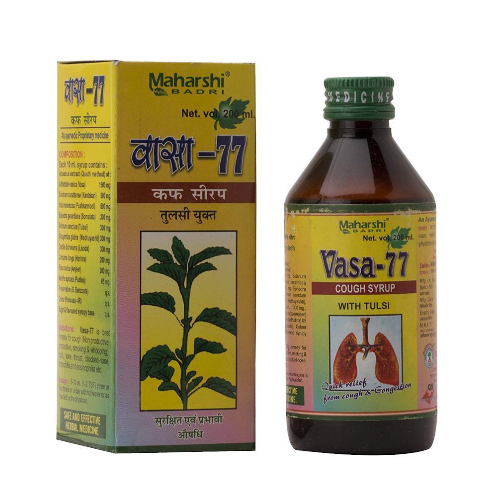 Maharshi Badri Vasa-77 Syrup (200ml)