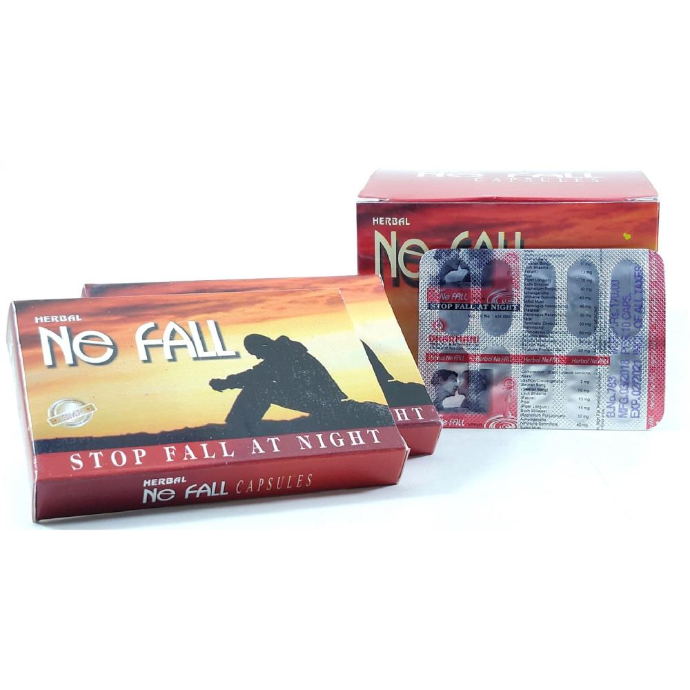 Dharmani Ne Fall Capsules - Night Fall Solutions (10caps, Pack of 2)