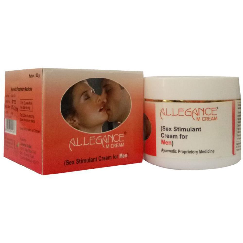 Elegance M Viagra Male Stimulant Cream - Stamina Booster Massage Cream (50g)