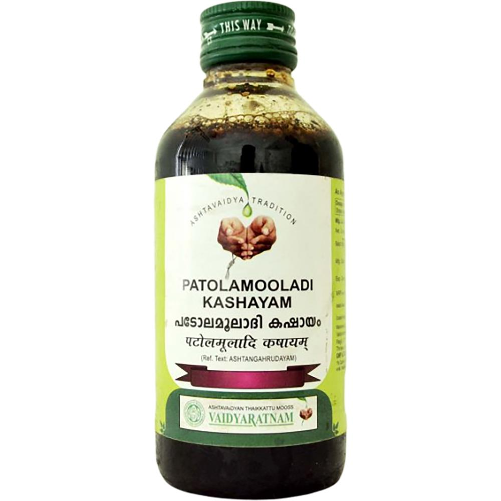 Vaidyaratnam Patolamooladi Kashayam (200ml)
