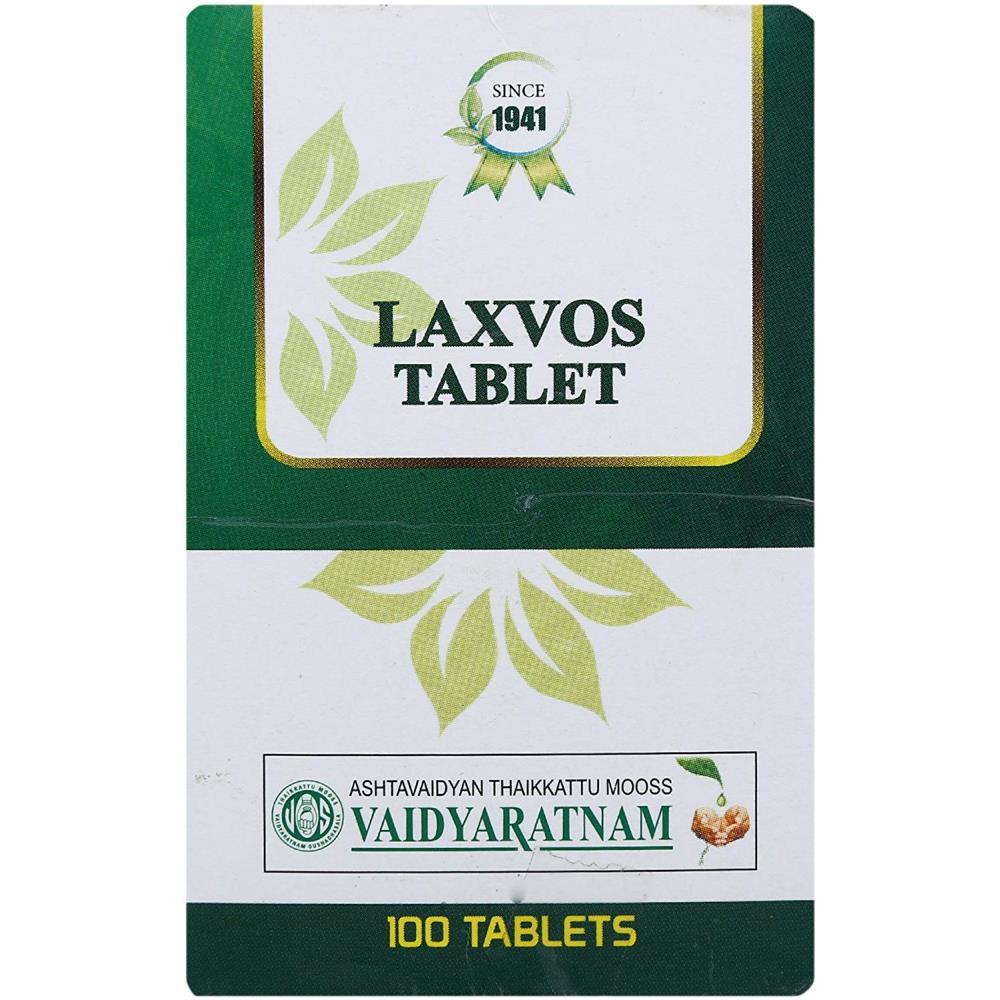Vaidyaratnam Laxvos Tablets (100tab)