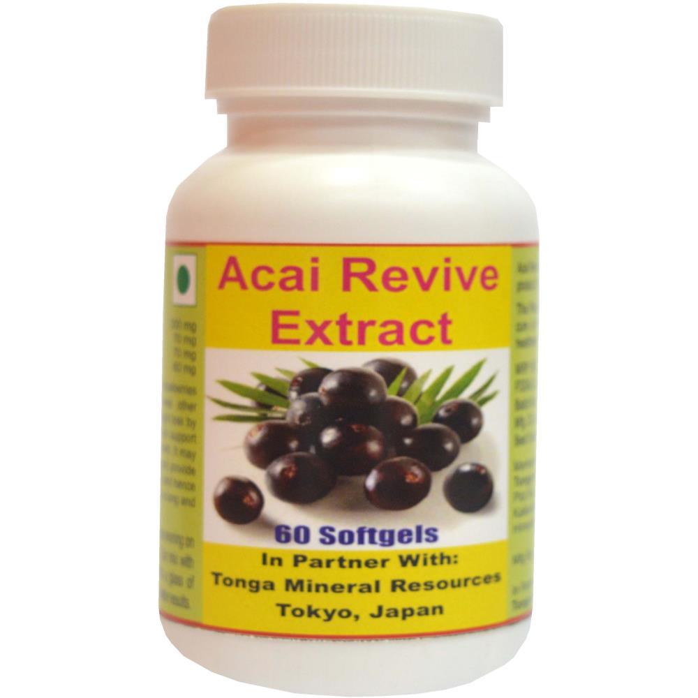 Tonga Herbs Acai Revive Extract Softgel (60Soft Gels)