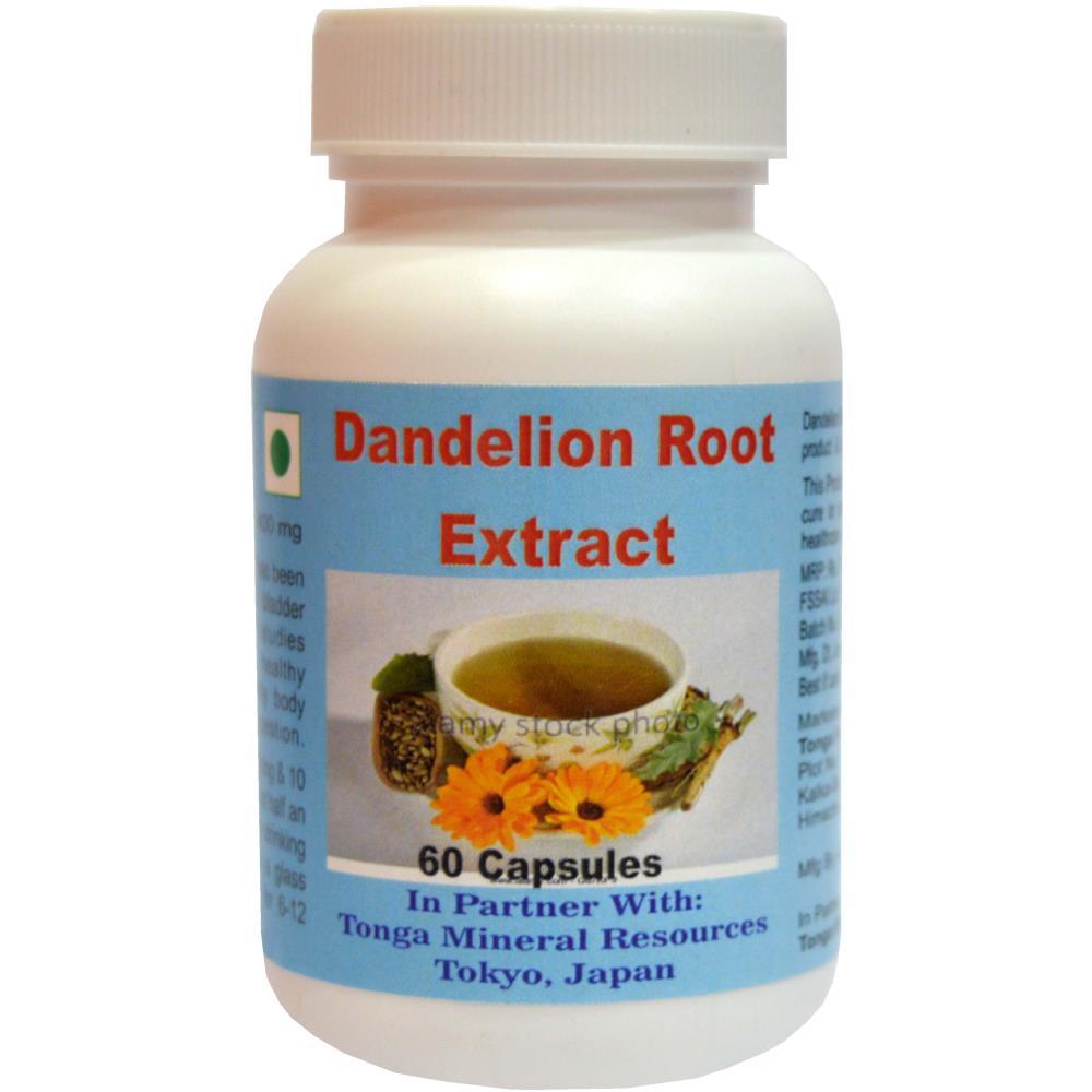Tonga Herbs Dandelion Root Extract Softgel (60Soft Gels)