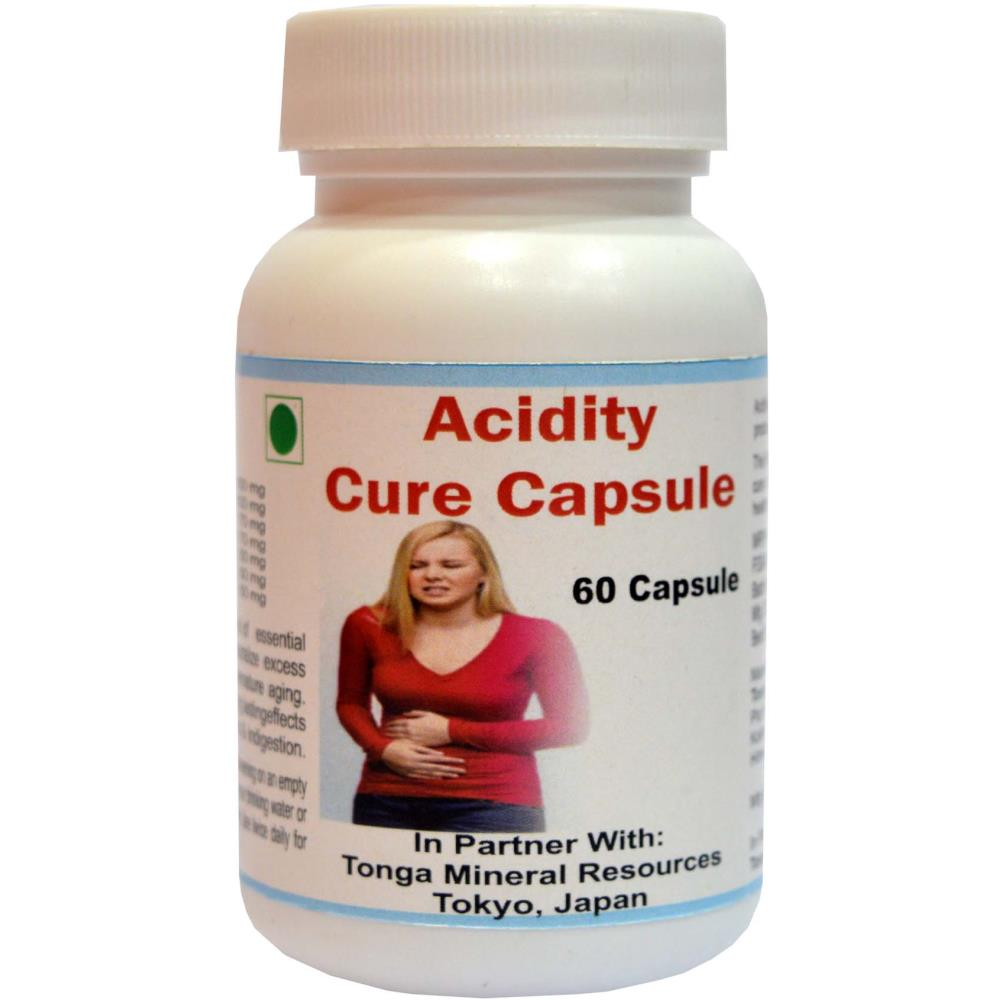 Tonga Herbs Acidity Cure Capsules (60caps)