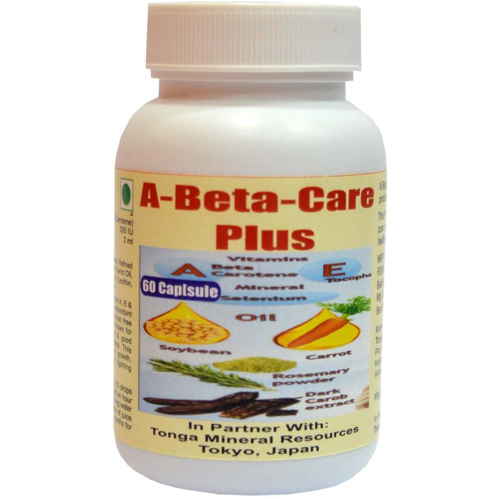 Tonga Herbs A Beta Care Plus Capsules (60caps)