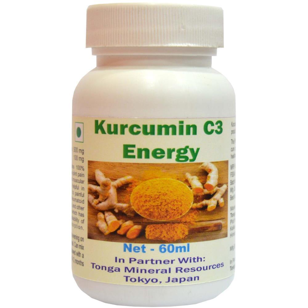 Tonga Herbs Kurkumin C3 Energy Capsules (60caps)
