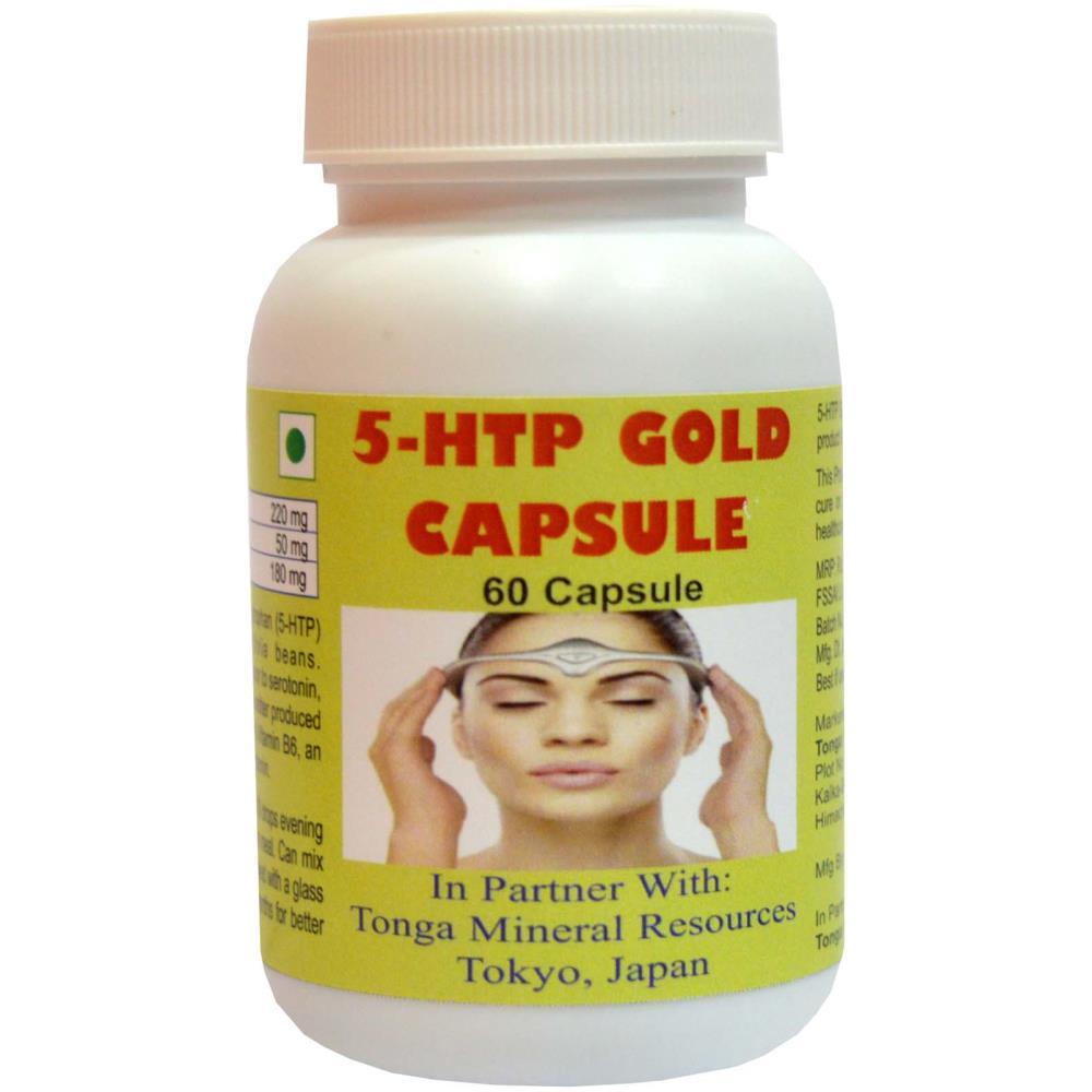 Tonga Herbs 5-HTP Gold Capsules (60caps)