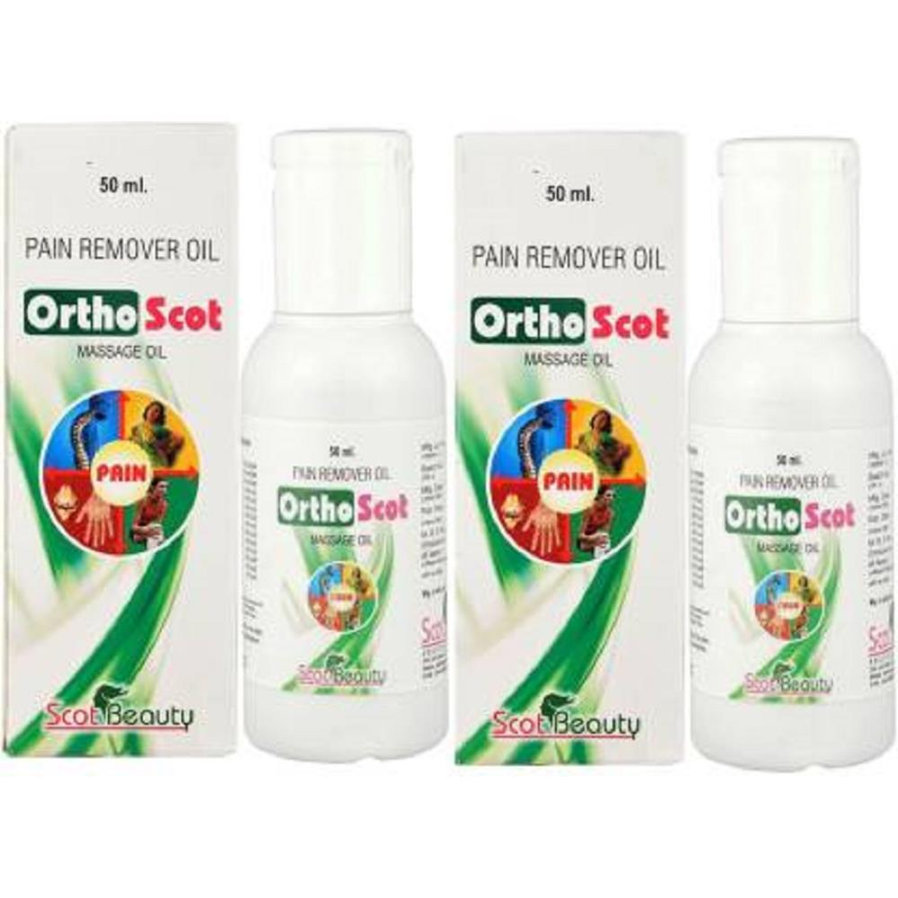 Scot Beauty Orthoscot Pain Relief Oil (50ml)