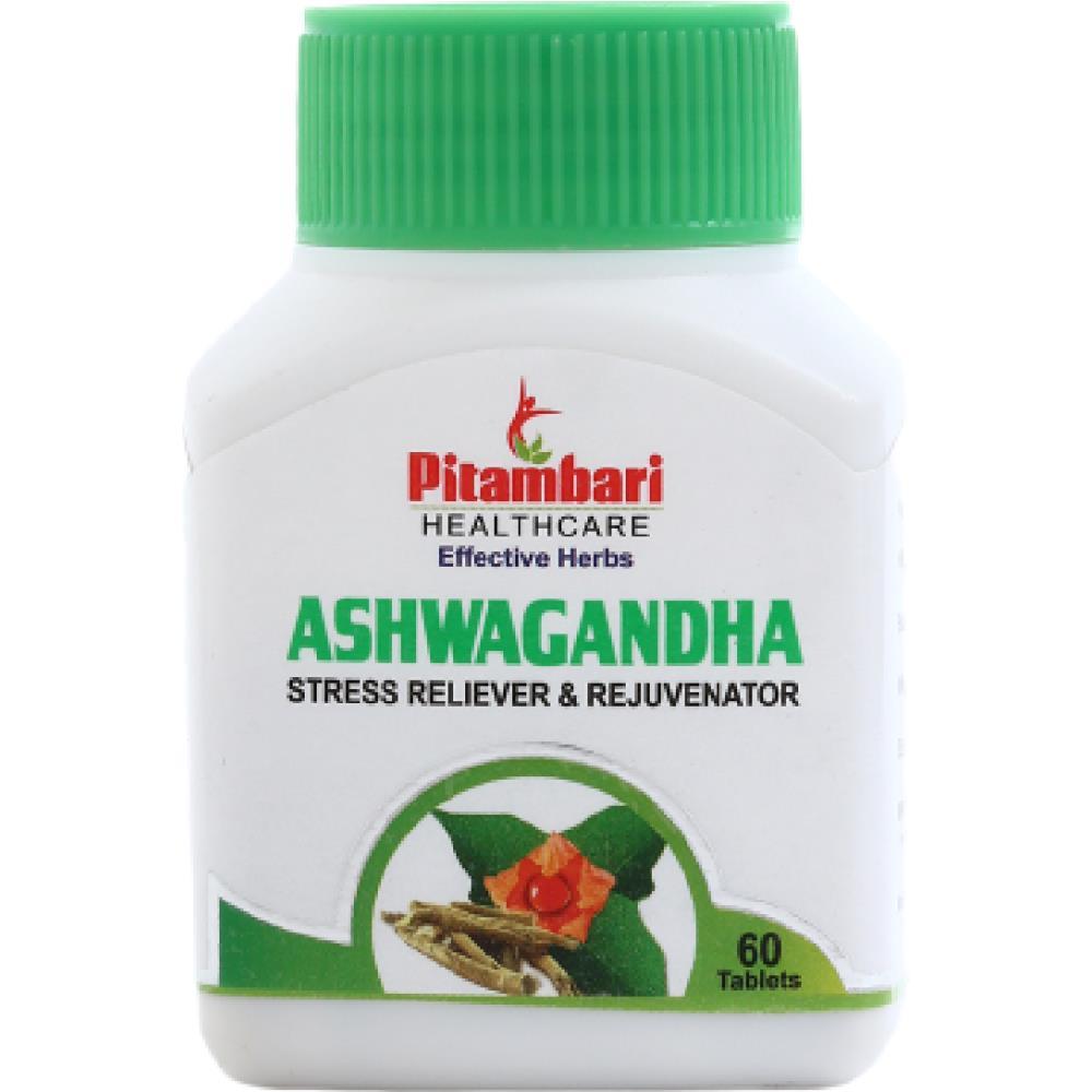 Pitambari Ashwagandha Stress Management Tablets (60tab)