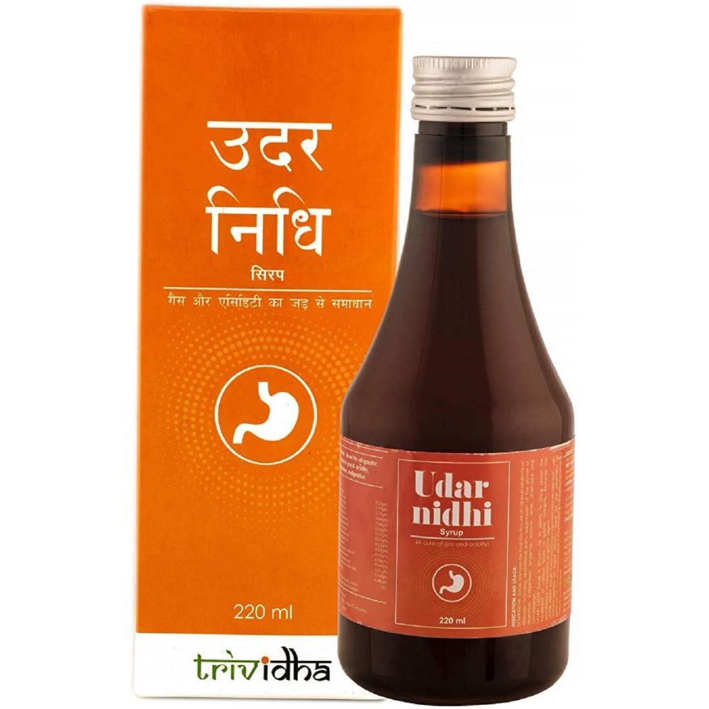 Trividha Udarnidhi Syrup (220ml)