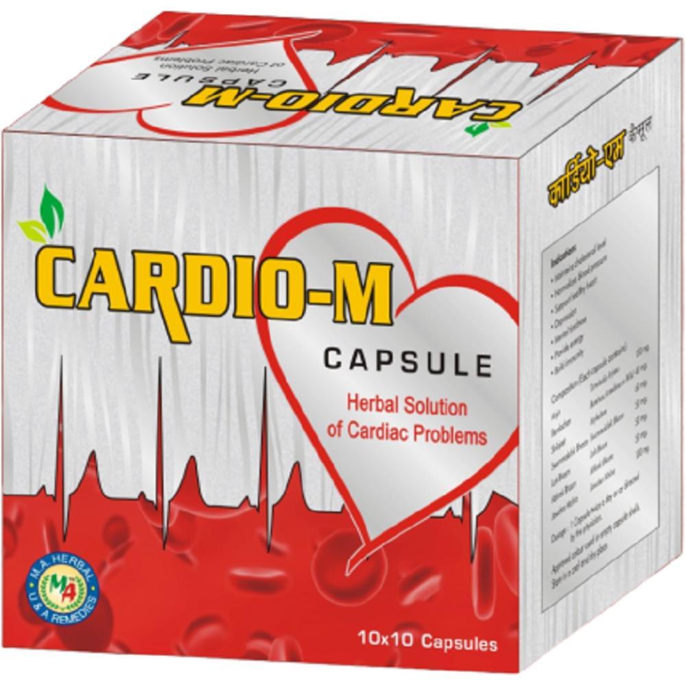 M A Herbal Cardio-M Capsule (100caps)