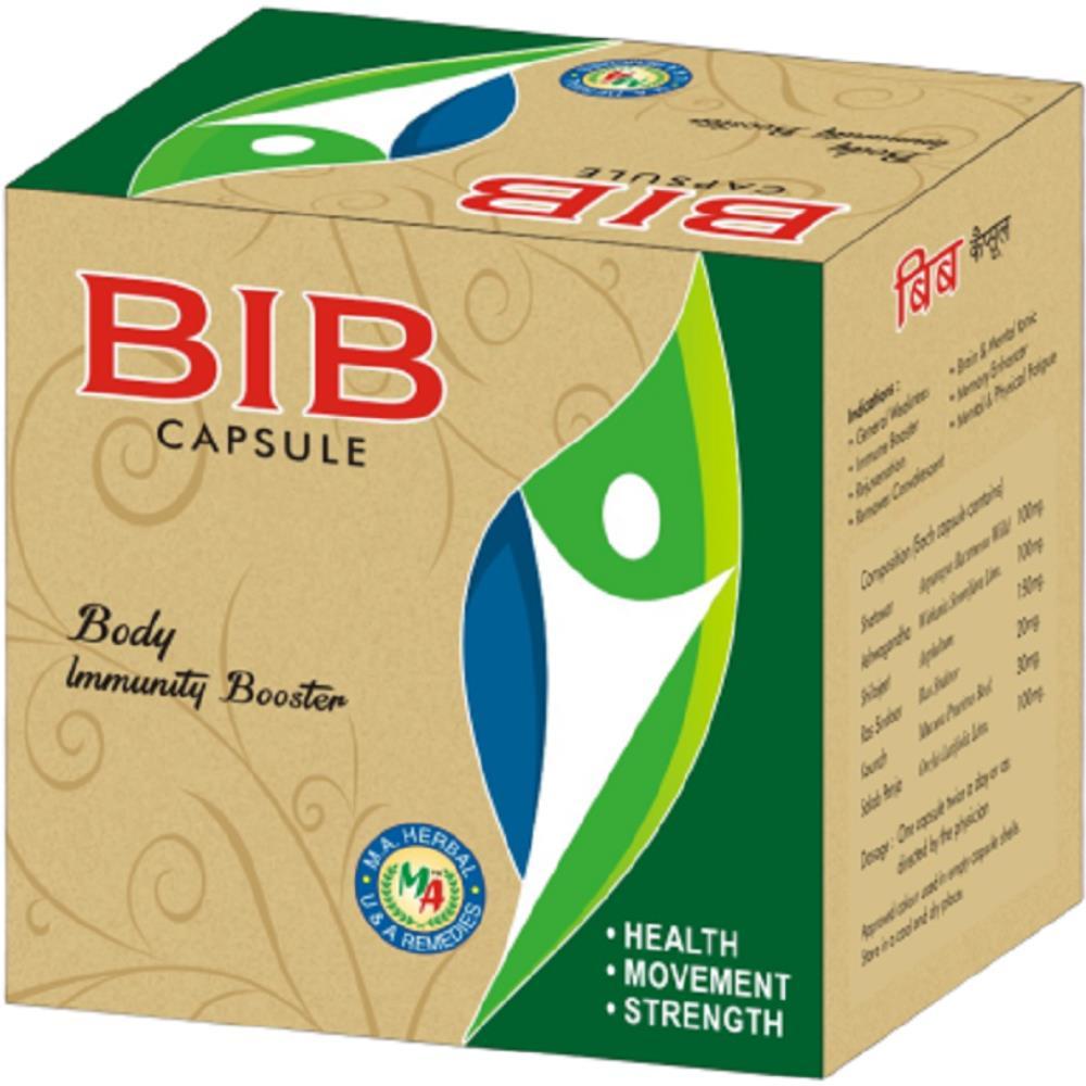 M A Herbal BIB Capsule (10caps, Pack of 2)