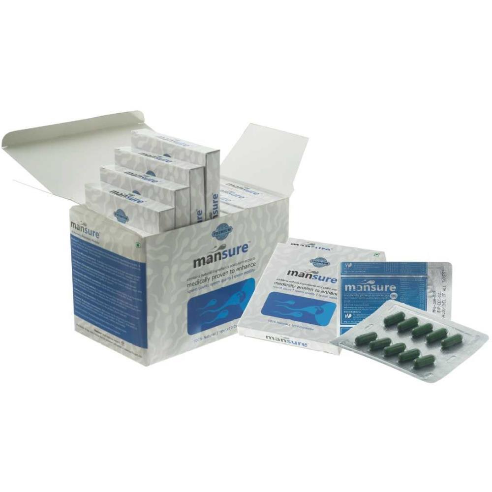 Mansure Male Reproductive Health Ayurvedic Supplement (100caps)