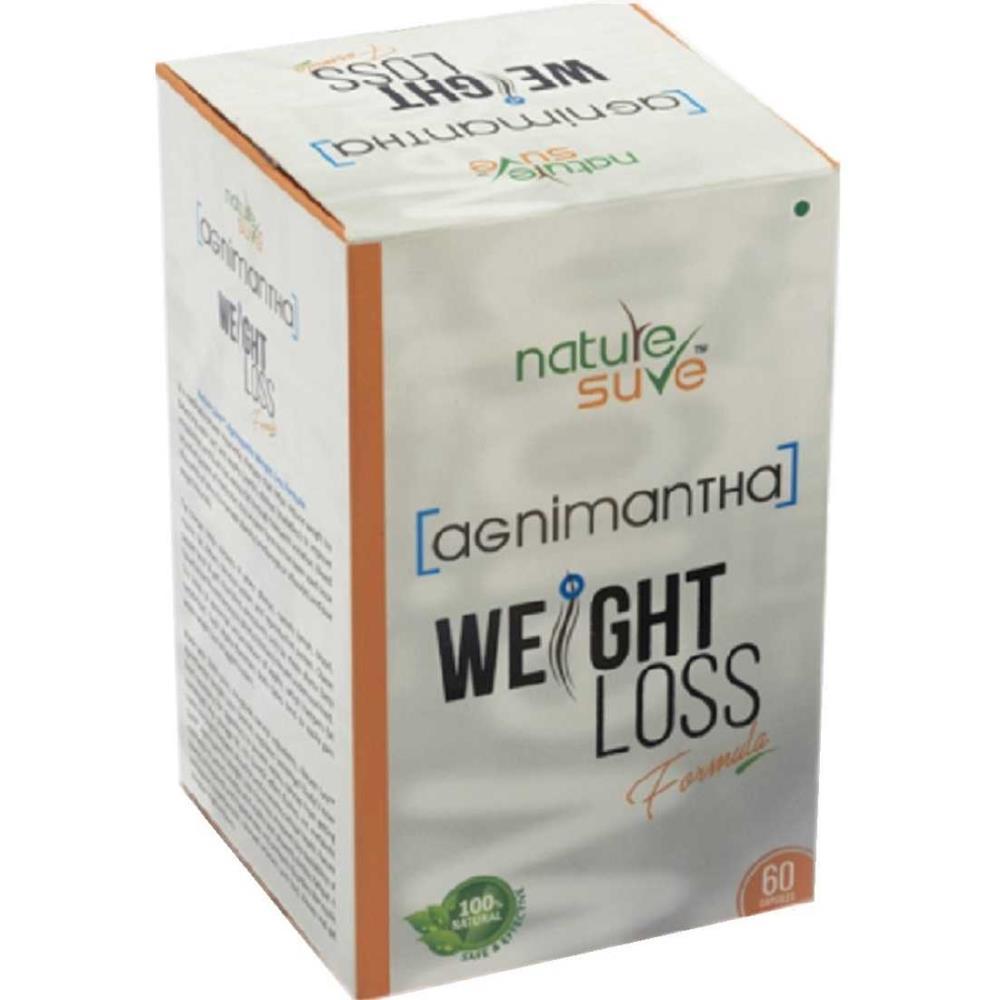 Nature Sure Agnimantha Weight Loss Formula Capsules (60caps)