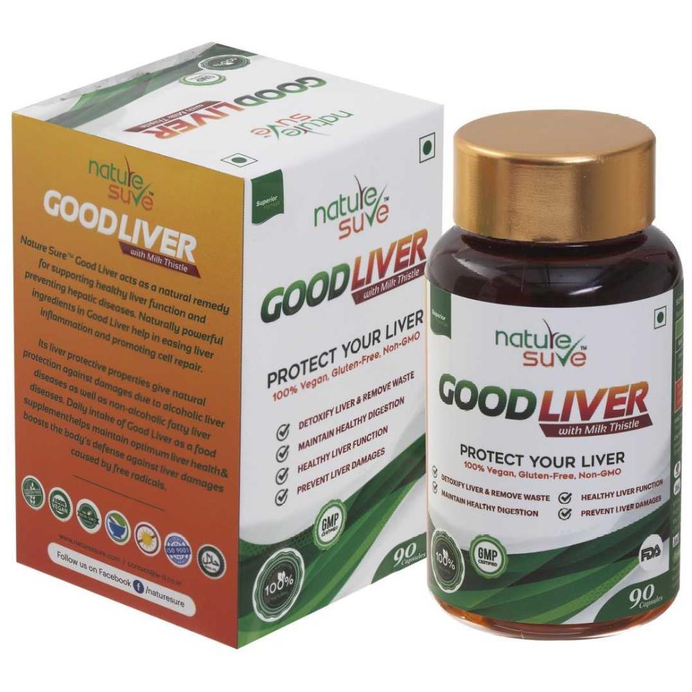 Nature Sure Good Liver Capsules With Milk Thistle (90caps)