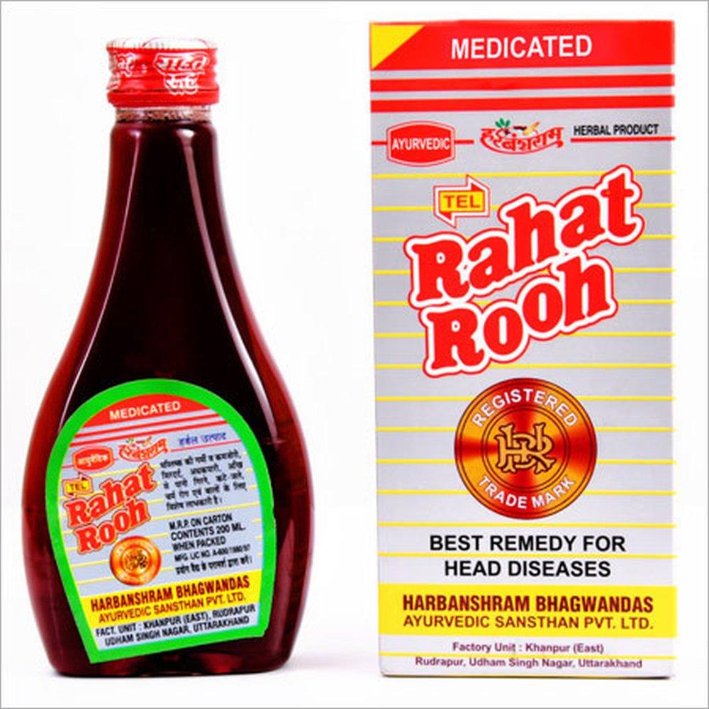 Harbanshram Ayurved Rahat Rooh Oil (100ml)