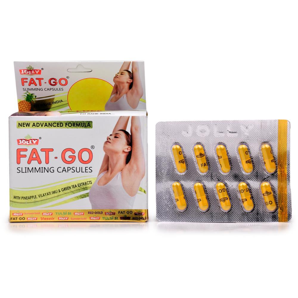 Jolly Fat Go Slimming Capsules (60caps)