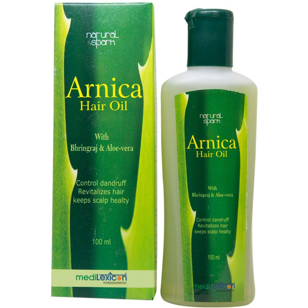 Medilexicon Arnica Hair Oil With Bhringraj & Aloe-Vera (100ml)