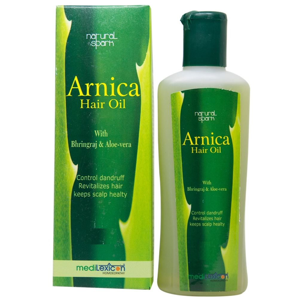 Medilexicon Arnica Hair Oil With Bhringraj & Aloe-Vera (200ml)