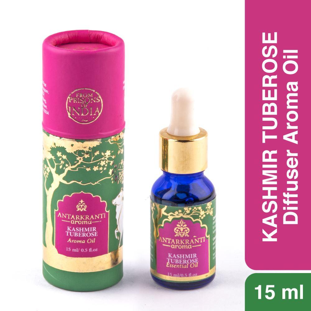 Antarkranti Aroma Natural Kashmir Tuberose Oil (15g)