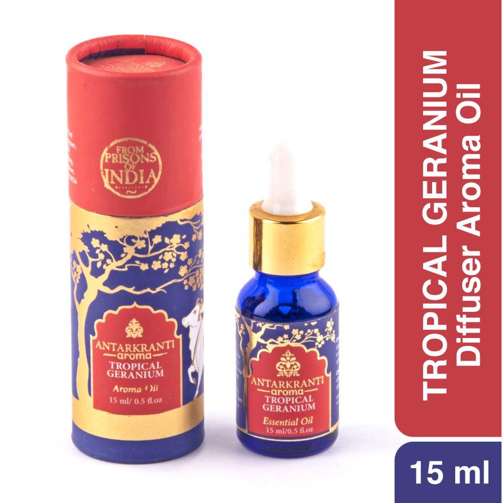 Antarkranti Aroma Natural Tropical Geranium Oil (15g)