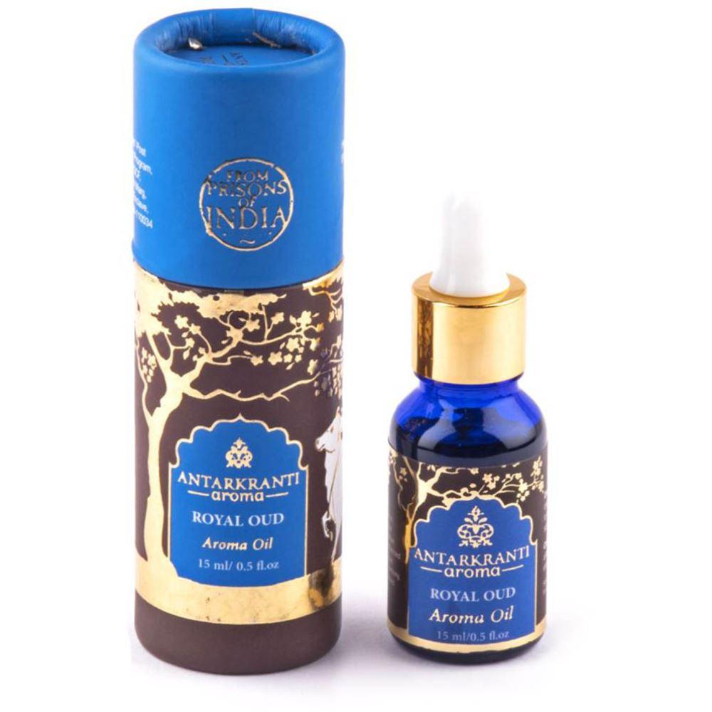 Antarkranti Aroma Natural Royal Oud Oil (15g)