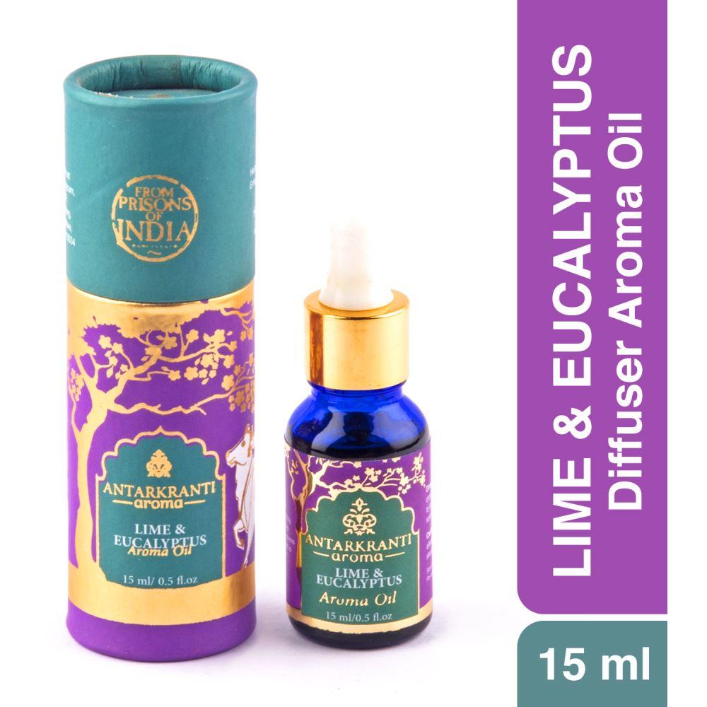 Antarkranti Aroma Natural Lime & Eucalyptus Oil (15g)